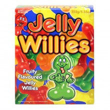 Fruit Flavoured Jelly Willies