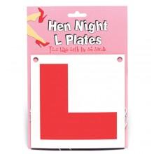 Hen Night L Plates