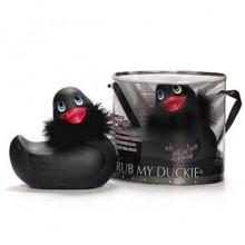 I Rub My Paris Duckie (black)